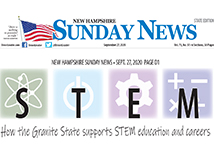 TFMoran participates in the STEM special section of New Hampshire Sunday News
