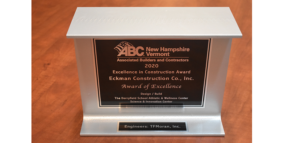 TFMoran ABC NH-VT Award of Excellence 2020