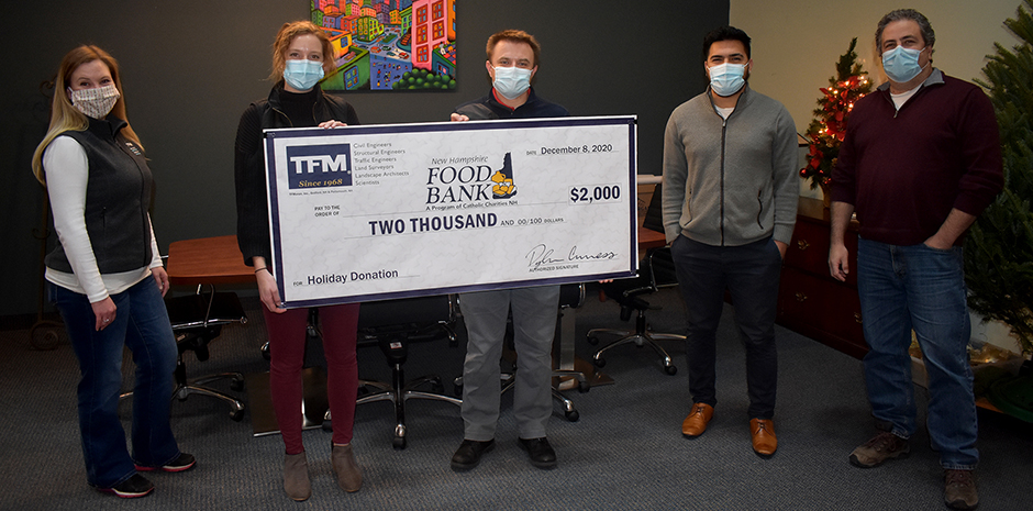 TFMoran donates to NH Food Bank
