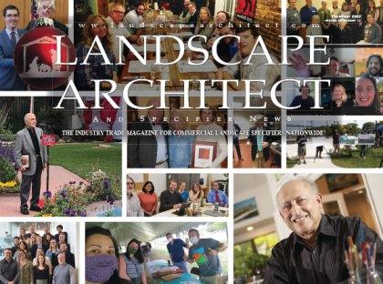 Anne Cruess Featured in December 2020 Landscape Architect Magazine