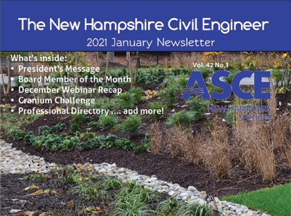 ASCE-NH Board Member of the Month: Nick Golon!