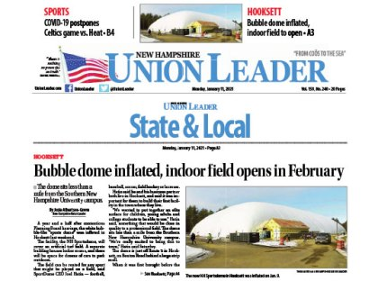TFMoran Project NH Sportsdome Featured in the Union Leader