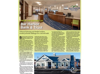 "NH Business Review ""From the Ground Up"" features Bar Harbor Bank & Trust"