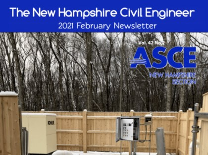 ASCE-NH Newsletter Features Our New Principals