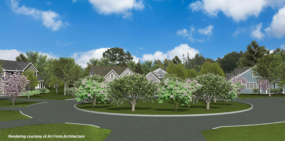 TFMoran engineers for The Village at Banfield Woods in Portsmouth NH