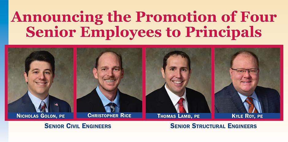 TFMoran Promotes 4 Senior Employees to Principals