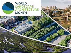 TFMoran is Celebrating World Landscape Architecture Month!