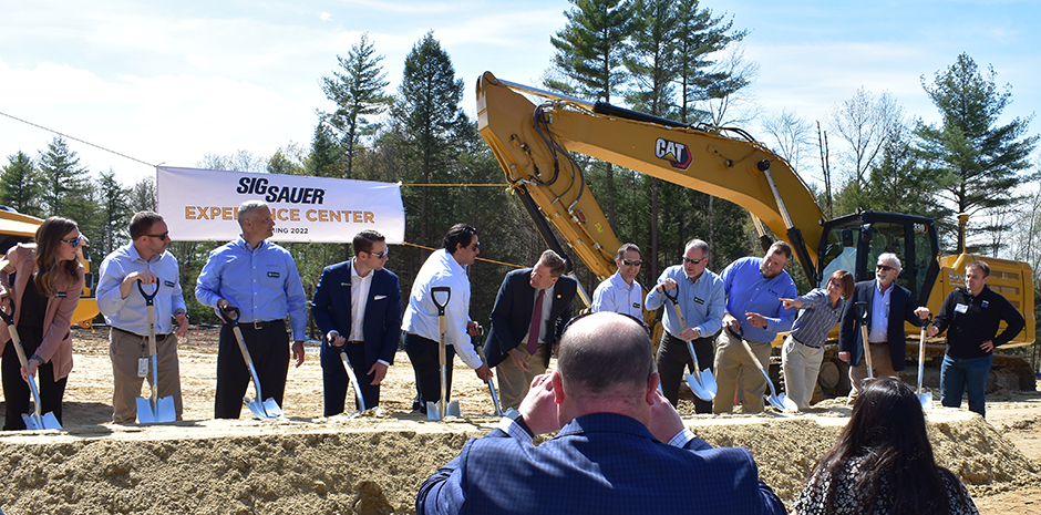 TFMoran civil engineers for Sig Sauer Experience Center in Epping, NH