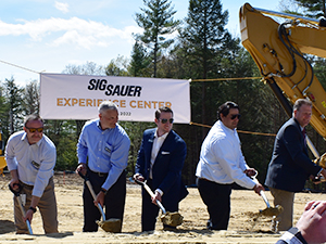 """Sig Sauer Breaks Ground for new """"Experience Center"""""""
