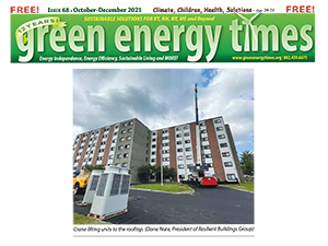 """TFMoran Structural Project featured in """"Green Energy Times"""""""