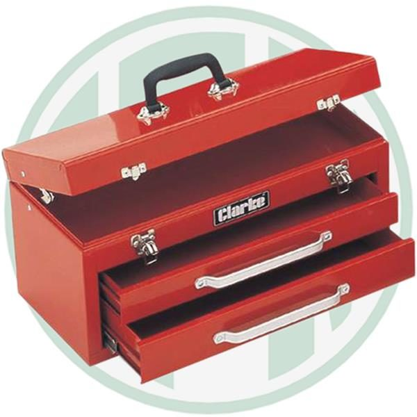 clarke tool chest 2 drawer cb2