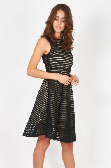 TFNC Charlotte Black Dress