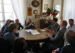 """Raddoppio Ss640. Il sindaco Gambino incontra i vertici Anas. """"Impegno per il cronoprogramma su cui vigileremo"""""""
