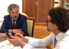 Il ministro Toninelli nel pomeriggio incontra il sindaco Gambino
