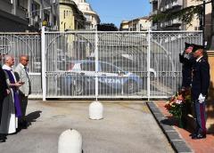 Caltanissetta, i poliziotti della Questura ricordano i colleghi Salvatore Falzone e Michele Pilato, nel quindicesimo anno della loro scomparsa