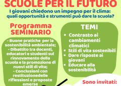 """Seminario Legambiente: """"scuole per il futuro"""""""