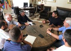 Incontro Nissa Rugby-Sindaco: sinergia proficua per Caltanissetta