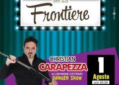 """Quarto appuntamento Giovedì 1 Agosto a Montedoro con Christian Carapezza  per """"Risate senza frontiere"""""""