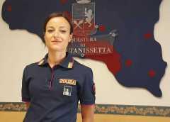 Caltanissetta, il Commissario Capo Stefania Asaro è il nuovo dirigente della Sezione volanti della Questura