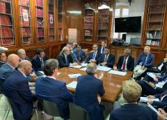 "Cancellieri: ""Anas pagherà i creditori Cmc"""