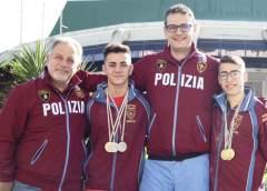 Grande successo ai campionati italiani under 17 di pesistica della Sezione Giovanile delle Fiamme Oro della Polizia di Stato di Caltanissetta