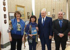 Federazione dell'Istituto del Nastro Azzurro in visita al Prefetto