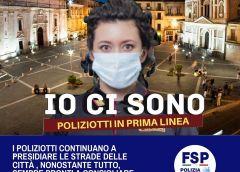 FSP Polizia di Stato Caltanissetta: in tempi di COVID-19 la solidarietà si moltiplica