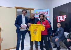 """Club house DLF Nissa Rugby, incontro su donazione. Nello Ambra (Fidas): """"Società generosa, il presidente Lo Celso è un esempio"""""""