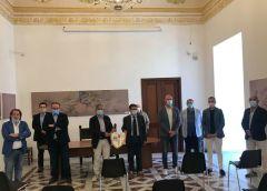 Calcio, presentazione della Nissa a Palazzo del Carmine
