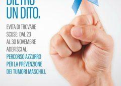 """La LILT promuove """"Percorso Azzurro""""  per la prevenzione dei tumori maschili"""