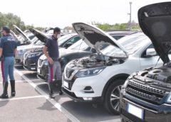 Caltanissetta, sequestrata dalla Polizia di Stato un'auto rubata nel dicembre scorso in Campania e rivenduta come usato proveniente dall'estero