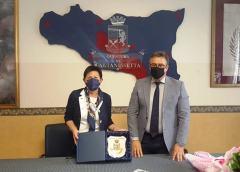 Caltanissetta, visita del Prefetto Chiara Armenia in Questura.
