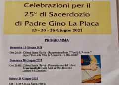 Santa Flavia. Le celebrazioni per il 25° di sacerdozio di padre Gino La Placa