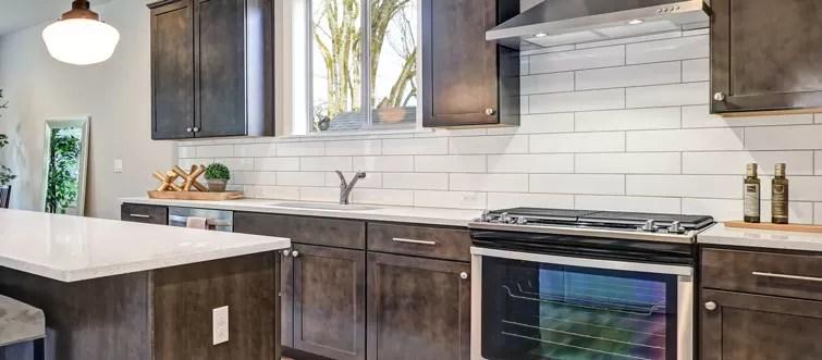 White Kitchen Subway Tile