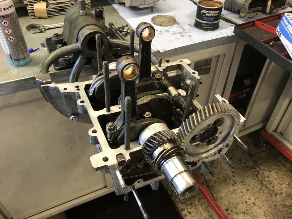 Porsche 356 Engine Internals