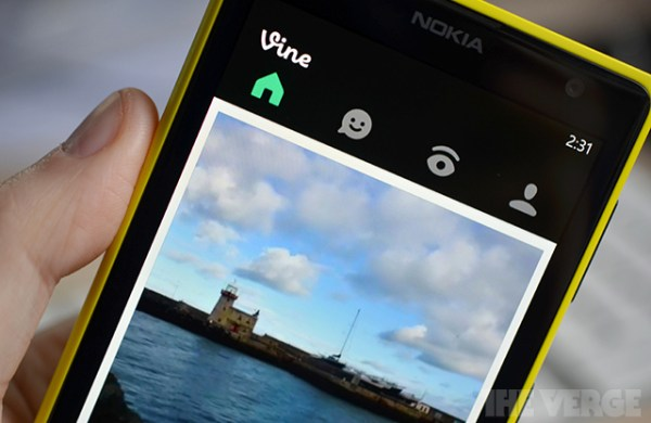 Vine no Windows Phone