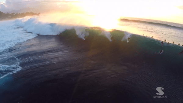 Surf Drone GoPro