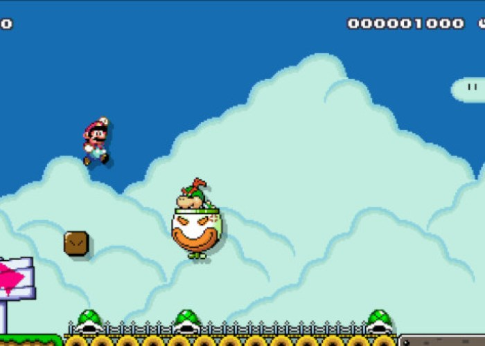 Super Mario Maker Gameplay Wii U
