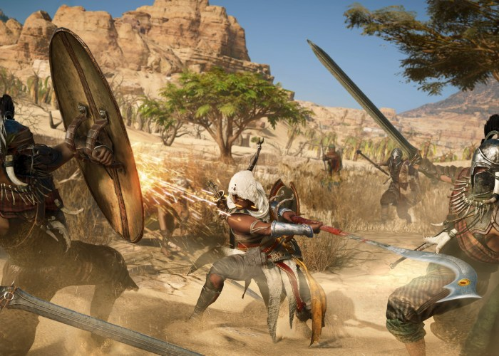 Review Gameplay Assassin's Creed Origins Análise