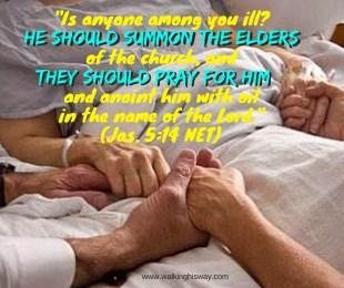 July 23 Jas5.14 elders pray