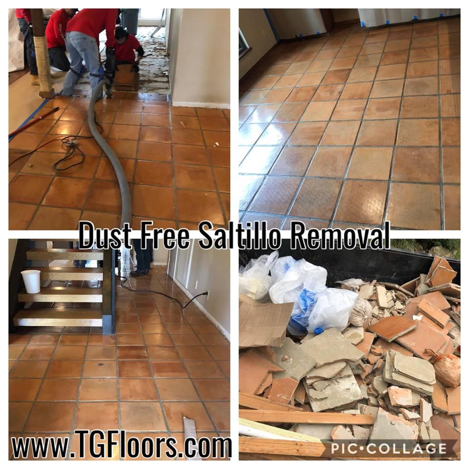 dust less tile removal talamantez