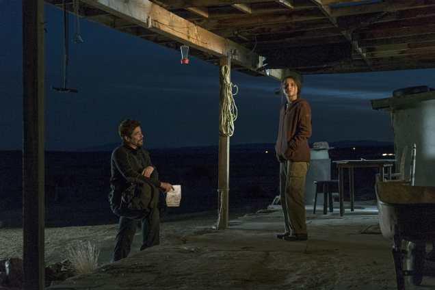 Benicio Del Toro and Isabela Moner) star in Sicario: Day of the Soldado.
