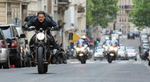 om Cruise as Ethan Hunt in MISSION: IMPOSSIBLE - FALLOUT, from Paramount Pictures and Skydance.