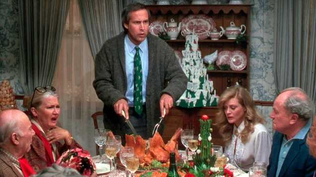 NATIONAL LAMPOON'S CHRISTMAS VACATION CHEVY CHASE Credit Photo: Warner Bros./Courtesy Neal Peters Collection