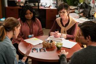 Rose Byrne, Octavia Spencer, Tig Notaro and Mark Wahlberg in Instant Family from Paramount Pictures.