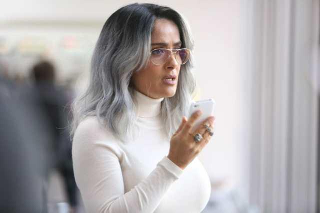 Salma Hayek in The Hummingbird Project