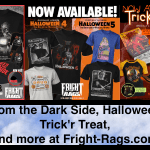 """Spooky Season is Here with """"Halloween 4 + 5"""", """"Trick'R Treat"""", and """"Tales From the Dark Side"""" Merch Available Now at Fright-Rags.com"""