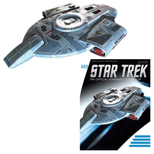Eaglemoss Star Trek Starship Collection Special 10 Mirror Universe ISS Defiant NX 74205 Eaglemoss Star Trek Starship Collection Bonus #004 Mirror Universe ISS Defiant NX 74205