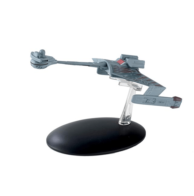 Eaglemoss Star Trek Starship Collection 07 KTinga Class Battle Cruiser Eaglemoss Star Trek Starship Collection #007 KTinga Class Battle Cruiser