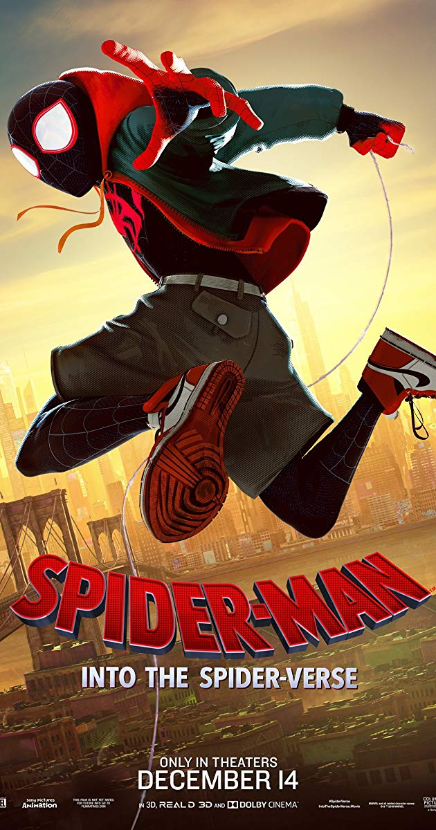 Spider Man: Into the Spider Verse 4k